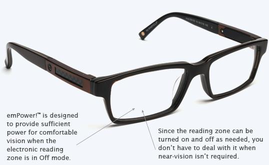 Первые в мире электронные очки [1]