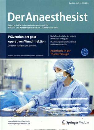 der anaesthesist mediadaten