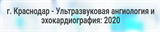 """Конференция """"Ультразвуковая ангиология и эхокардиография: 2020"""""""