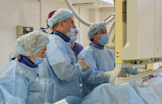 Эндоваскулярные методы диагностики и лечения в репродуктологии